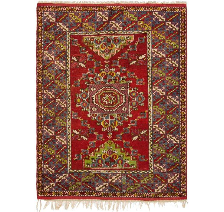 5' 4 x 7' 6 Anatolian Rug