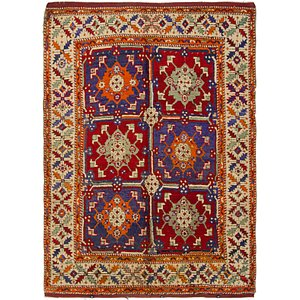 5' 6 x 7' 7 Kars Oriental Rug
