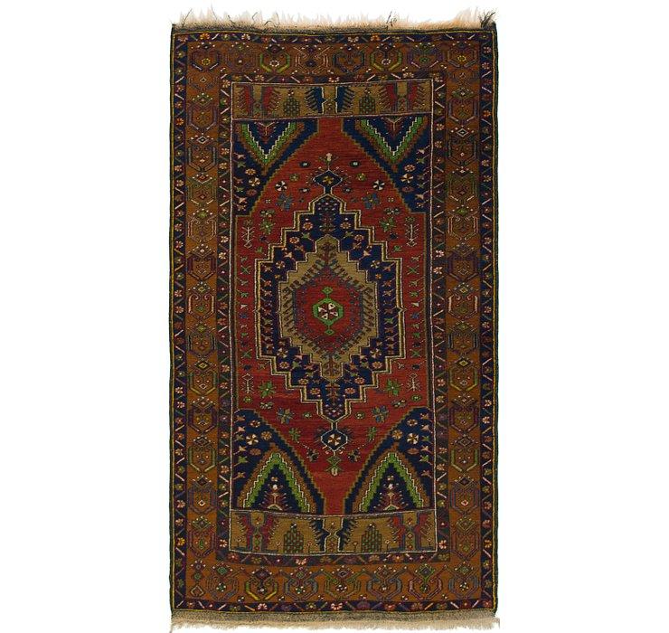 3' 8 x 7' Anatolian Rug