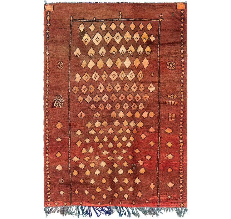 4' 4 x 6' 3 Moroccan Rug