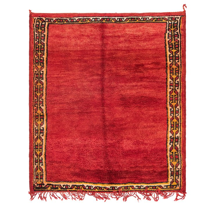 5' x 6' 2 Moroccan Rug
