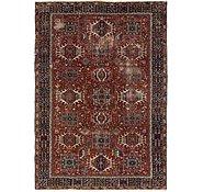 Link to 7' 7 x 11' Heriz Persian Rug