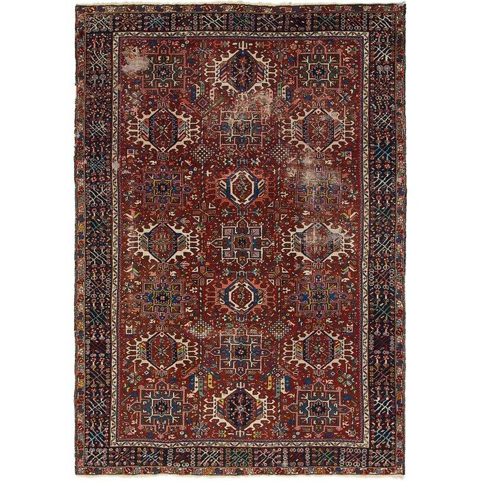 7' 7 x 11' Heriz Persian Rug