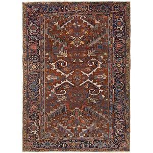 7' 2 x 10' 2 Heriz Persian Rug
