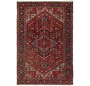 Link to 7' 6 x 11' 2 Heriz Persian Rug