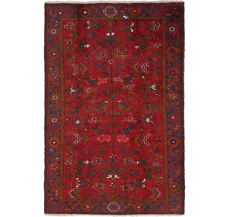 220cm x 335cm Heriz Persian Rug