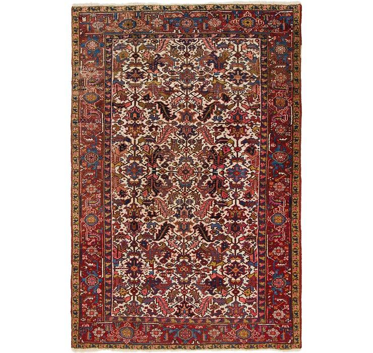 225cm x 340cm Heriz Persian Rug