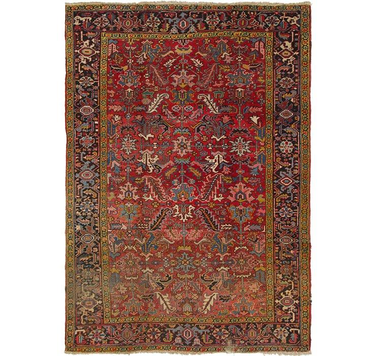 7' 5 x 10' 7 Heriz Persian Rug