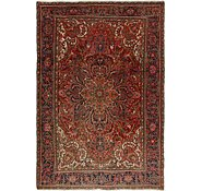 Link to 8' x 11' 7 Heriz Persian Rug