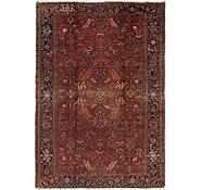 Link to 7' 8 x 11' Heriz Persian Rug