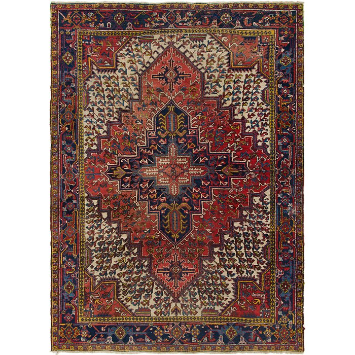 7' 8 x 10' 10 Heriz Persian Rug