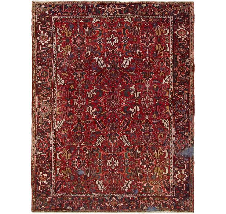 8' 6 x 11' Heriz Persian Rug