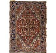 Link to 7' 4 x 10' 5 Heriz Persian Rug