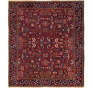 Link to 7' 10 x 8' 10 Heriz Persian Square Rug