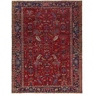 Link to 7' 3 x 9' 8 Heriz Persian Rug item page