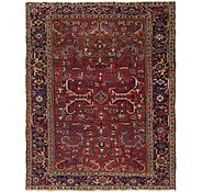 Link to 7' 9 x 10' Heriz Persian Rug