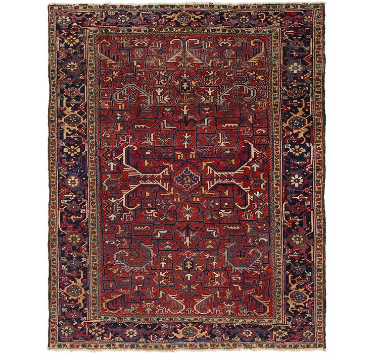 7' 9 x 10' Heriz Persian Rug