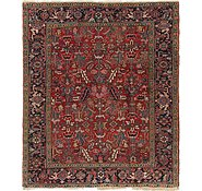 Link to 7' x 8' 6 Heriz Persian Square Rug