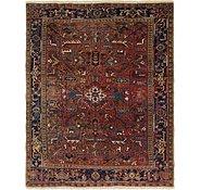 Link to 7' 4 x 9' Heriz Persian Rug