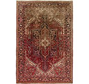 Link to 6' 9 x 9' Heriz Persian Rug