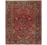 Link to 7' 3 x 8' 8 Heriz Persian Square Rug