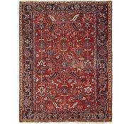 Link to 7' 4 x 9' 9 Heriz Persian Rug