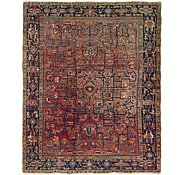 Link to 8' 2 x 10' Heriz Persian Rug