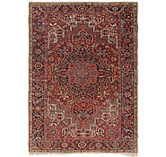 Link to 7' 7 x 10' 5 Heriz Persian Rug