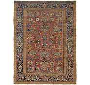 Link to 7' 7 x 10' 2 Heriz Persian Rug
