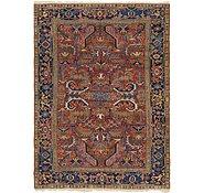 Link to 7' 2 x 9' 10 Heriz Persian Rug