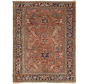 Link to 7' x 9' 2 Heriz Persian Rug