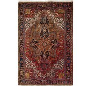 Link to 7' 6 x 11' 6 Heriz Persian Rug