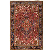 Link to 7' 4 x 11' Heriz Persian Rug