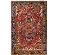 Link to 7' 4 x 11' Heriz Persian Rug