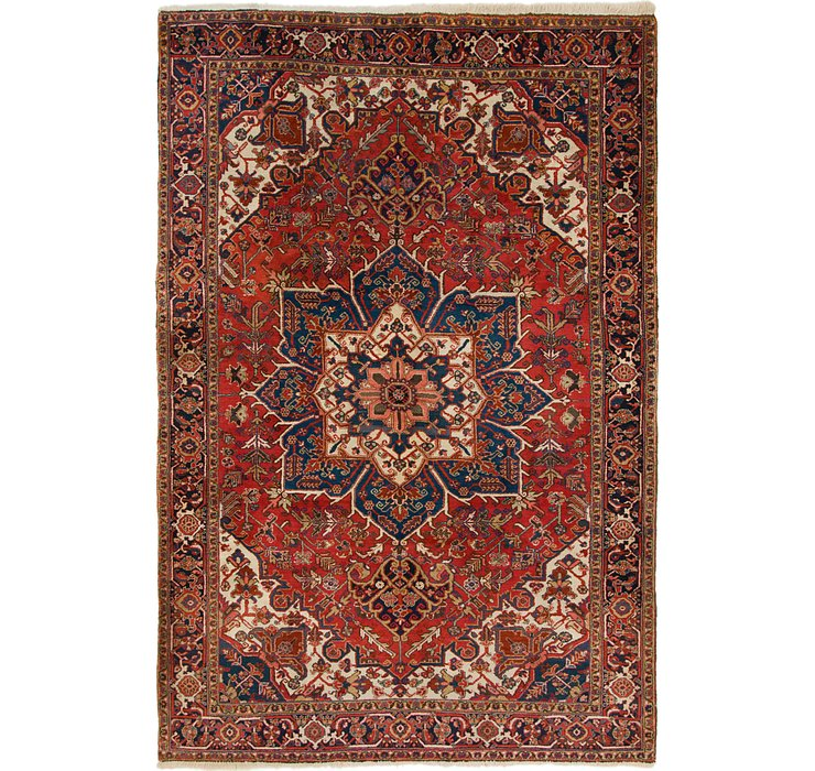 7' 10 x 11' 7 Heriz Persian Rug