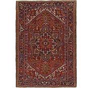 Link to 7' 10 x 11' 2 Heriz Persian Rug