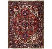 Link to 8' 10 x 11' 10 Heriz Persian Rug