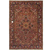 Link to 6' 8 x 9' 6 Heriz Persian Rug
