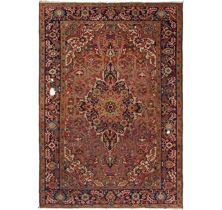 6' 8 x 9' 6 Heriz Persian Rug