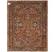 Link to 7' 3 x 9' 3 Heriz Persian Rug