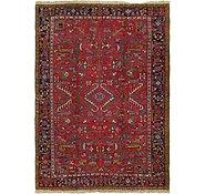 Link to 8' 2 x 11' Heriz Persian Rug