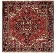 Link to 8' 7 x 8' 7 Heriz Persian Square Rug