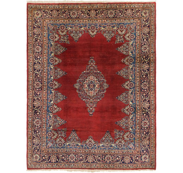 245cm x 320cm Sarough Persian Rug