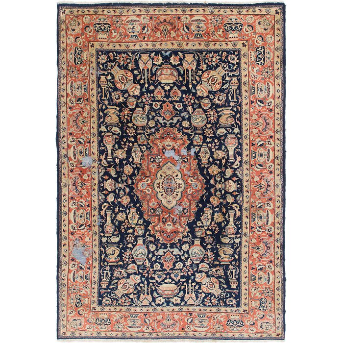 6' 5 x 9' 4 Yazd Persian Rug