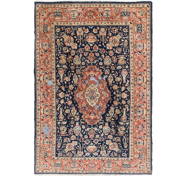 195cm x 285cm Yazd Persian Rug