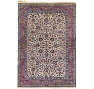 Link to 6' 9 x 9' 9 Sarough Persian Rug