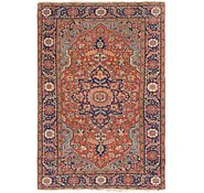 Link to 5' 9 x 8' 7 Heriz Persian Rug