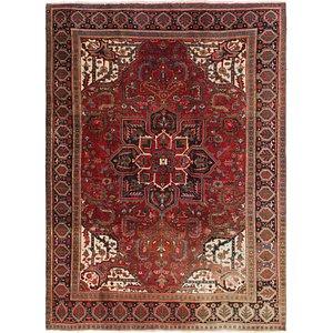 Link to 7' 10 x 10' 9 Heriz Persian Rug page