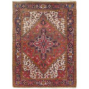 208cm x 275cm Heriz Persian Rug