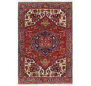 Link to 6' 4 x 9' 2 Heriz Persian Rug